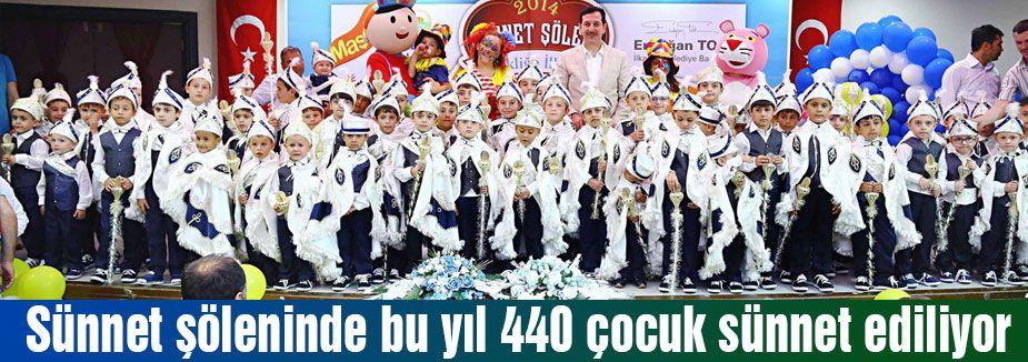 440 ÇOCUĞA SÜNNET
