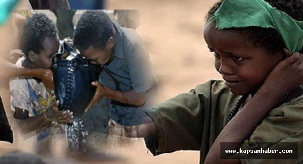 6 bin çocuk susuzluktan ölüyor