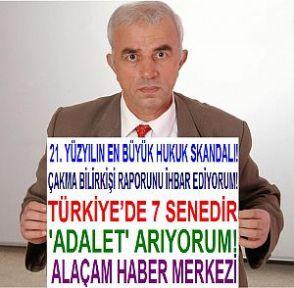 7 YILDIR ADALET ARAYAN ADAM