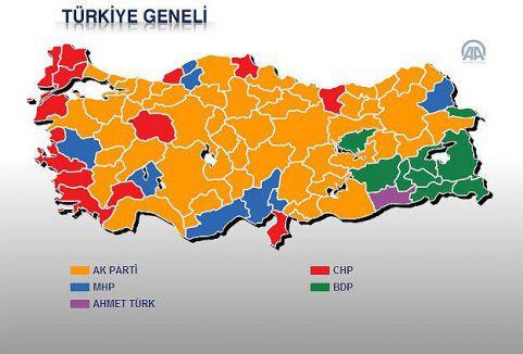81 ilin belediye başkanları belli oldu...