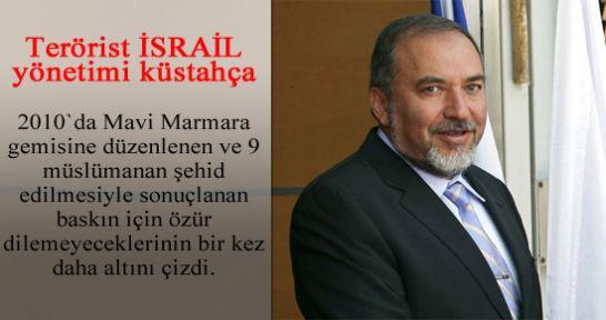 9 kişinin şehid edildiği Mavi Marmara için küstahça mesaj...