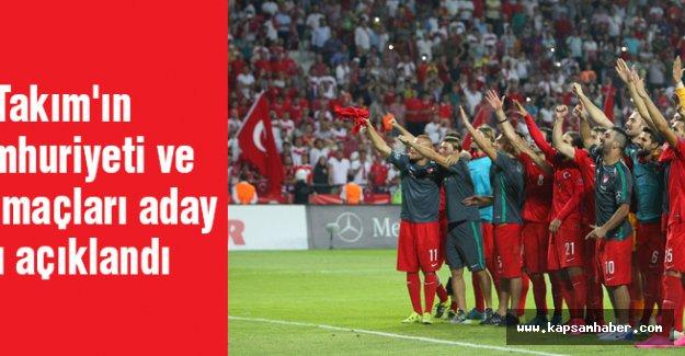 A Milli Takım'ın Çek Cumhuriyeti ve İzlanda maçları aday kadrosu açıklandı