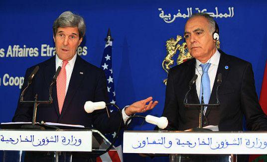 ABD Dışişleri Bakanı Kerry Fas'ta...