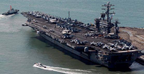 ABD Donanması Akdeniz Kıyılarında...