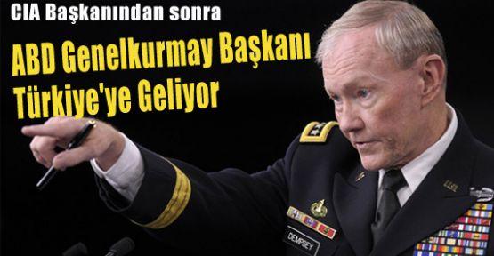 ABD Genelkurmay Başkanı Pazar Günü Türkiye'de