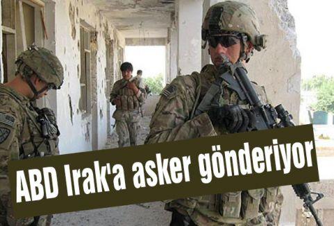 ABD Irak'a 300 asker gönderiyor