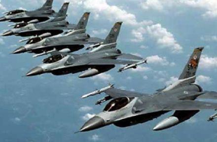 ABD Mısır'a 4 adet f16 uçak..