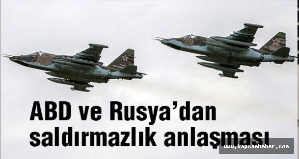 ABD ve Rusya'dan Saldırmazlık Anlaşması