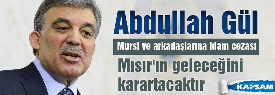 Abdullah Gül'den Mursi Tweeti