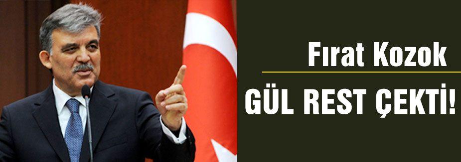 Abdullah Gül Res Çekti!