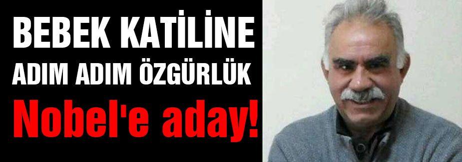 Abdullah Öcalan Nobel'e aday!