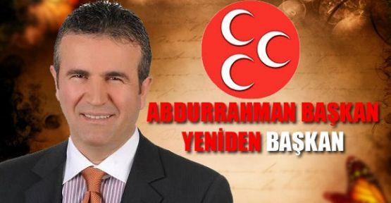 Abdurrahman Başkan yeniden seçildi