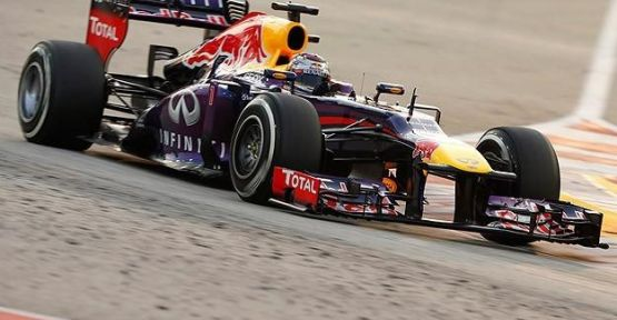 Abu Dabi Grand Prix'si Vettel'in