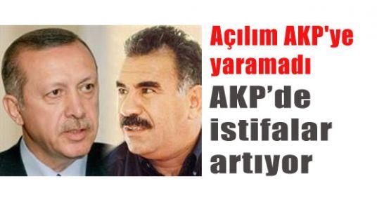 Açılımın Faturası  AKP'den İstifalar...