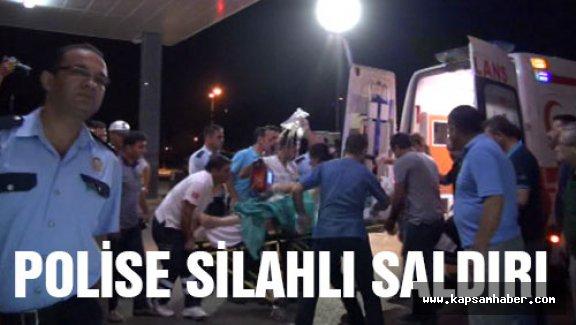 Adana'da polise silahlı saldırı