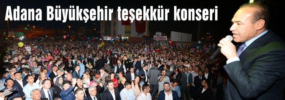 Adana MHP Konserlerine devam ediyor...