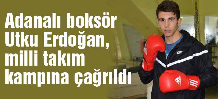 Adanalı boksör milli takım kampına çağrıldı