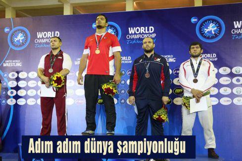 Adım adım dünya şampiyonluğu