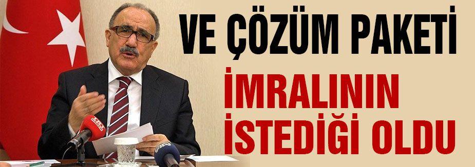 Adım Adım Öcalan'a Af, Teröriste eve dönüş imkanı