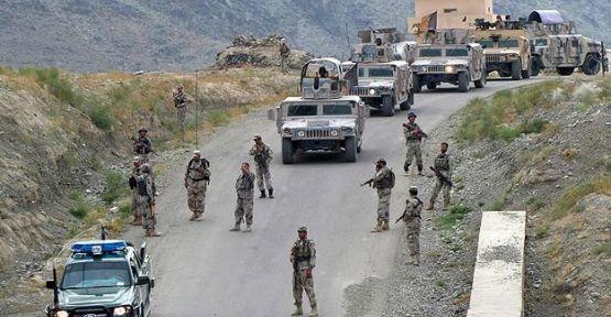 Afganistan'da Taliban operasyonu...