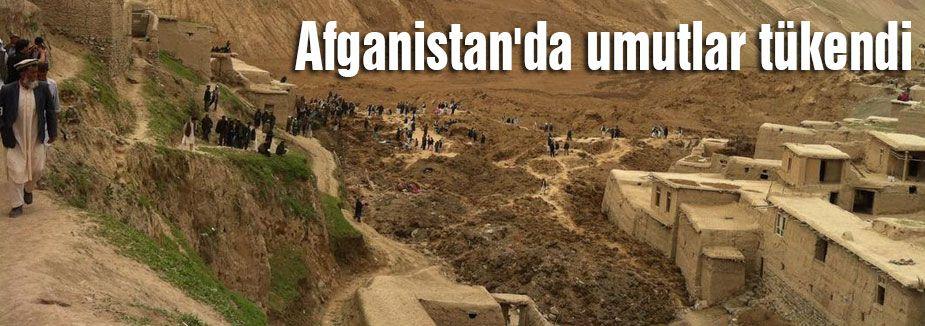 Afganistan'da umutlar tükendi