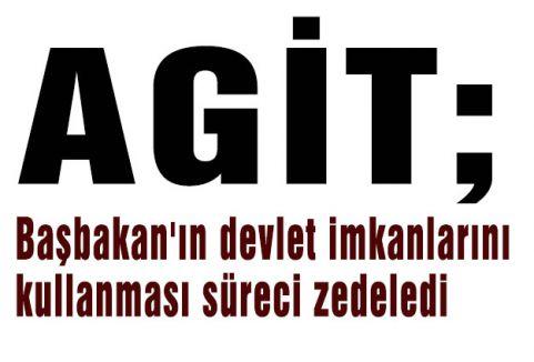 AGİT; Seçim Süreci zedelendi