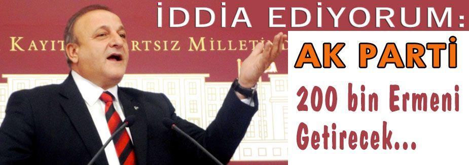 Ak Parti Ermenilere Toprak mı veriyor?