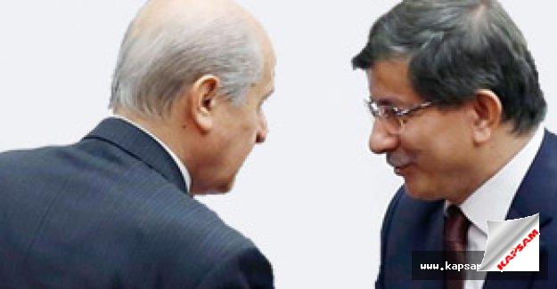 Ak Parti ile MHP koalisyon için anlaştı mı?