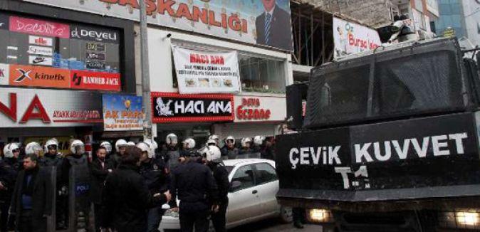 AK Parti'li Adaya Saldırı