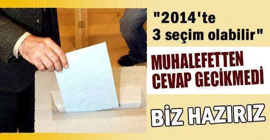 AK Parti'ye 3 Parti'nin Seçim Yanıtı: BİZ HAZIRIZ!