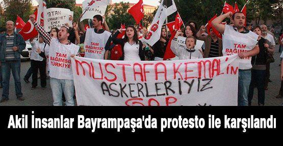 Akiller'e Bayrampaşa'da Protesto