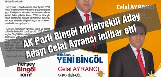 AKP ADAY ADAYI KAZANAMAYINCA İNTİHAR ETTİ