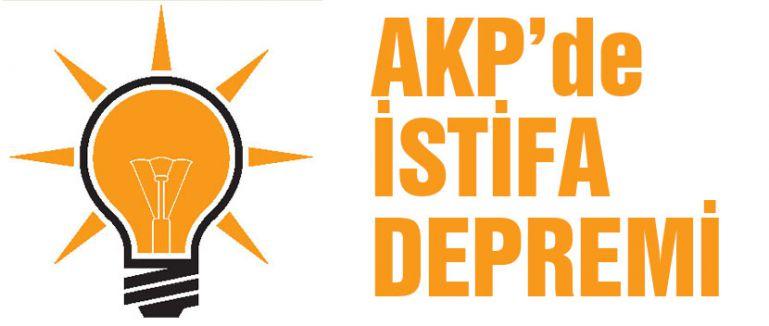 AKP İSTİFA DEPREMİ...