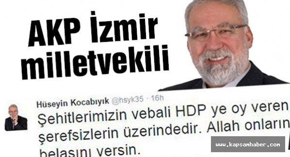 AKP'li Kocabıyık: Şerefsizlere şerefsiz diyemeyecekmiyiz?