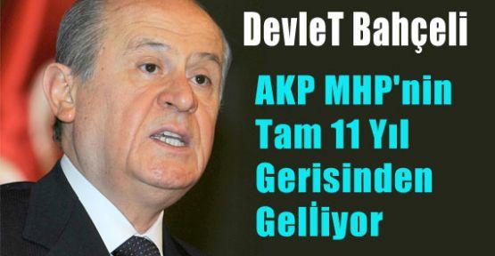 AKP MHP'nin Tam 11 Yıl Gerisinden Gelİiyor
