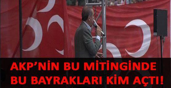 AKP Mitinginde MHP