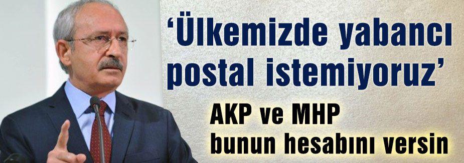 AKP ve MHP bunun hesabını versin