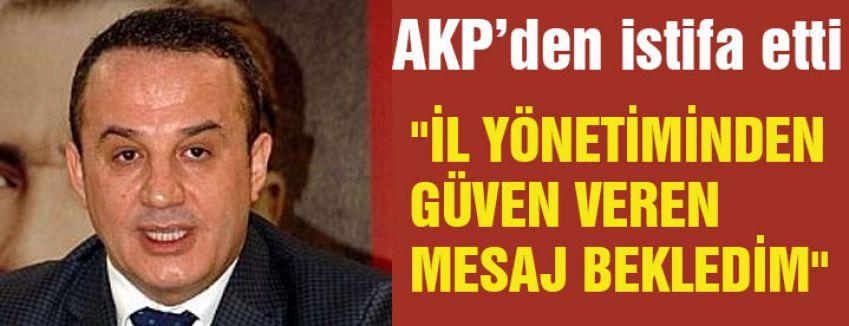 AKP'den İstifa edince...