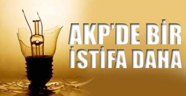 AKP'li Başkan istifa etti...