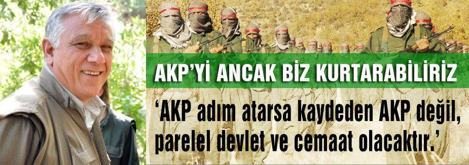 AKP'yi Biz Kurtarabiliriz...