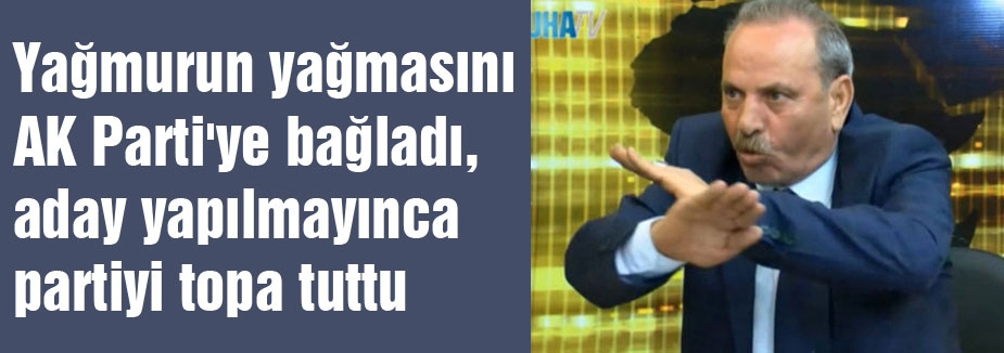 AKP'yi ilahlaştıran A.Adayı  istifa etti...