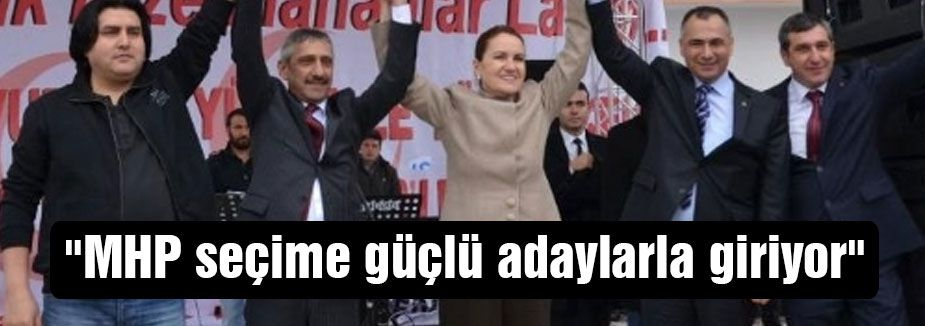 Akşener: Arnavutköy MHP Adayını Tanıttı.