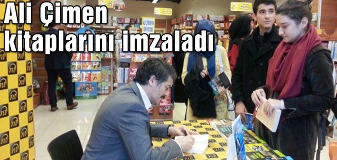 Ali Çimen okurlarıyla buluştu