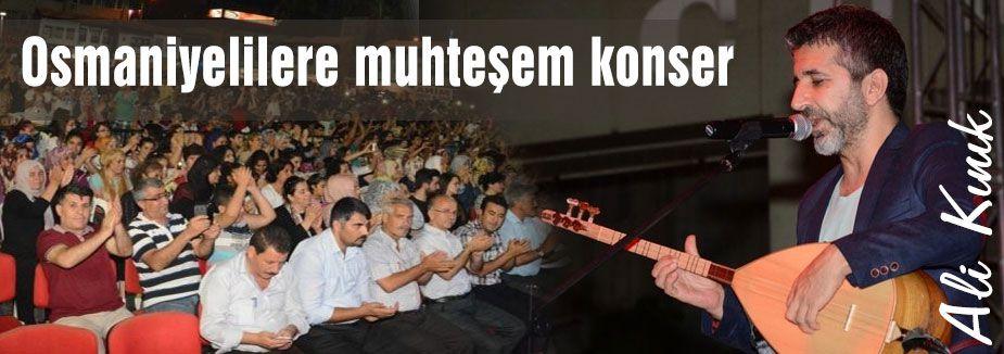 Ali Kınık'tan muhteşem konser
