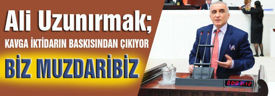 Ali Uzunırmak: AKP, Hukuk Denetiminden Kaçıyor