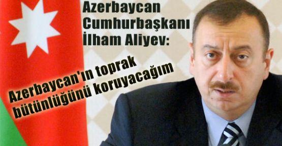 Aliyev, Topraklarımızı Geri Alacağız