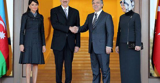 Aliyev'e devlet nişanı...
