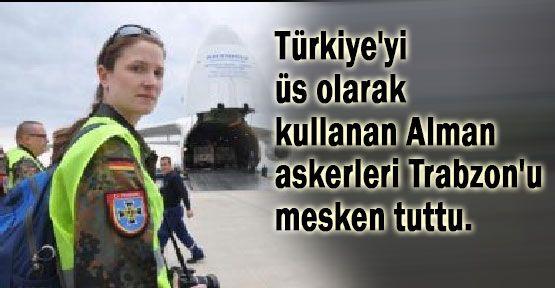 Alman Askerleri Trabzon'a Yerleşti...