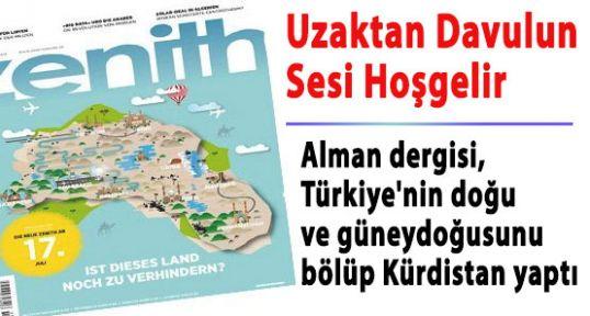 Alman Dergisinin Türkiye'yi Bölen Rezaleti
