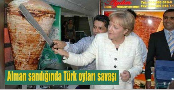 Alman seçimi ve Türk oy avcılığı